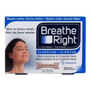 TIRAS NASALES  BREATHE RINGHT 30GD