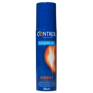 CONTROL PLEASURE LUBE ENERGY LUBRICANTE NO ESTERIL 50 ML