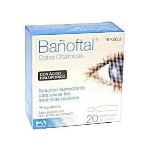BAÑOFTAL BAÑO OCULAR  20 MONODOSIS 0.4 ML