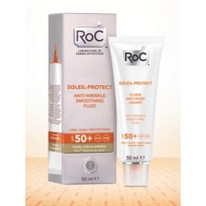 ROC SOLEIL PROTECT FLUIDO ANTIEDAD REJUVENECEDOR ALTA TOLERANCIA SPF 50+ 50 ML