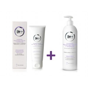 BE+ PACK CREMA Y GEL ATOPIA  400 ML+ 400 ML