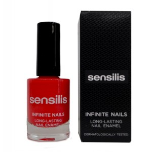SENSILIS INFINITE NAILS LACA DE UÑAS LARGA DURACION 10 ML TONO 01 CORAIL