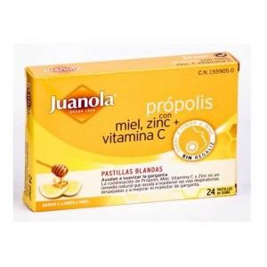 PASTILLAS BLANDAS JUANOLA PROPOLIS VIT C ZINC  48 G