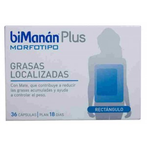 BIMANAN PLUS MORFOTIPO RECTANGULO  36 CAPS