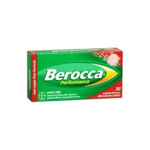 BEROCCA PERFORMANCE COMP EFERVESCENTES  FRUTOS ROJOS 30 COMP EFERV
