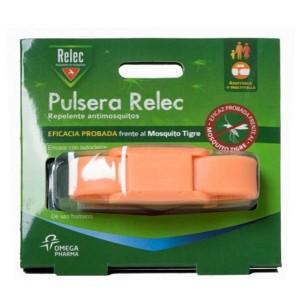 RELEC PULSERA ANTIMOSQUITOS REPELENTE COLOR ROSA