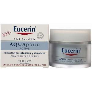 EUCERIN AQUAPORIN ACTIVE CREMA HIDRATANTE FPS 25+ UVA 50 ML