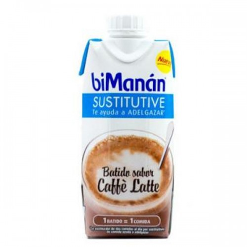 BIMANAN SUSTITUTIVE BATIDO DE CAFE CON LECHE  330 ML